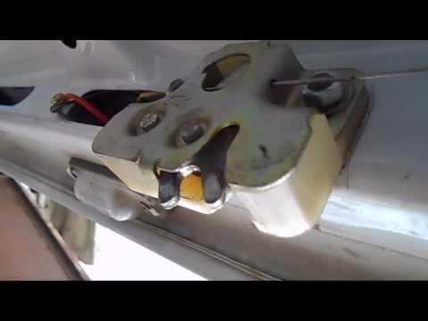 Установка электропривода замка багажника на ВАЗ 2107