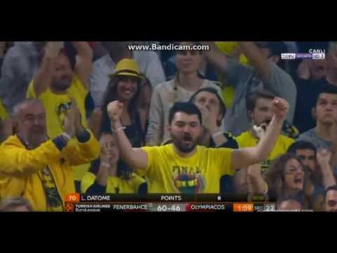 Fenerbahçe Olympiakos  final : 80-64 Euroleague THY Avrupa Ligi Final Four