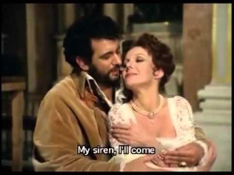 """R.Kabaivanska & P.Domingo """"Love Duet Act 1"""" Tosca"""