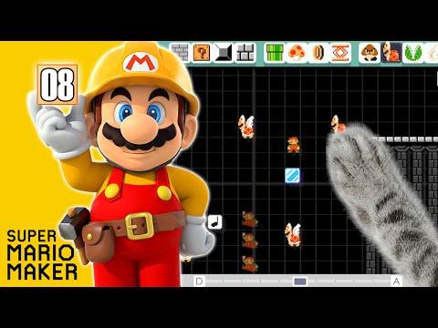 Super Mario Maker #08 - Créons un niveau difficile !
