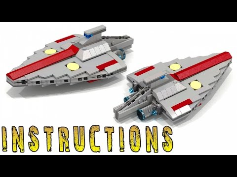 Instructions Lego Star Wars Acclamator Class Micro Youtube