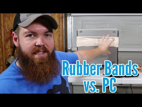 Can Rubber Bands Crush A Computer?
