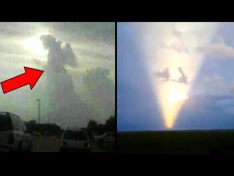 10 Strange Phenomena In the Sky Caught On Camera!