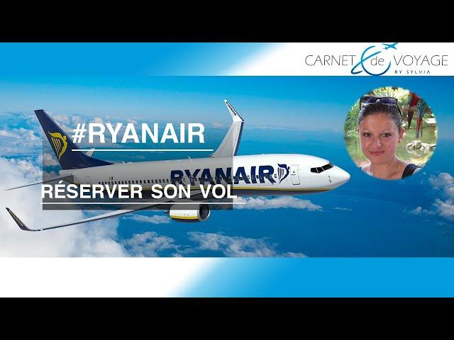 Ryanair : comment réserver son vol ?