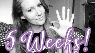 5 WEEKS! Pregnancy After Stillbirth