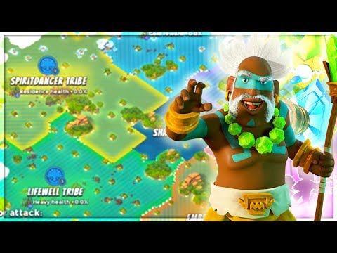 Boom Beach NEW Tribal Update Infomation! (New HERO, Tribes, and Basebuilder!)