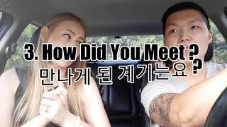 """Q&A"" International Couple 국제커플(amwf)/🇬🇧🇰🇷👨👩👧👦다문화가정의 한국살이! Video"