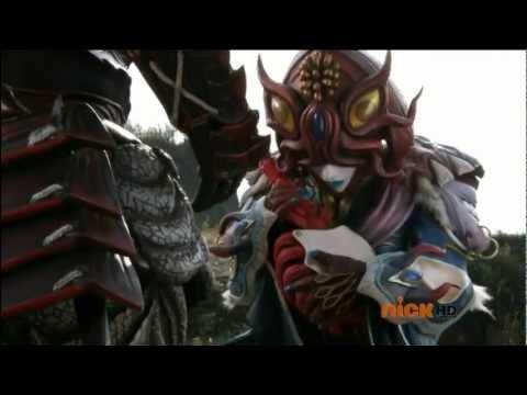 Power Rangers Super Samurai - The Master Returns - Master Xandred's Return  (Episode 13)