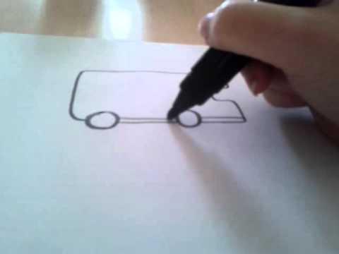 Camping Car Dessin comment je dessine un camping car - youtube