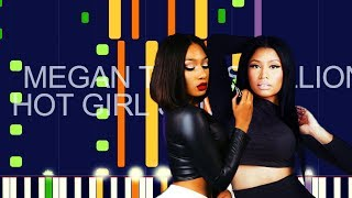 """Megan Thee Stallion ft. Nicki Minaj - HOT GIRL SUMMER (PRO MIDI REMAKE / BEAT) - """"in the style of"""""""