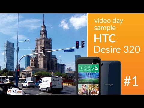 HTC Desire 320 camera test: day video 1 (1080p)
