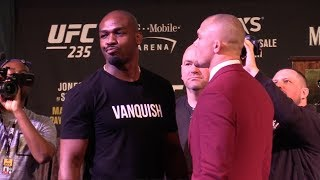UFC 235 Face Offs: Jon Jones vs Anthony Smith, Woodley vs Usman