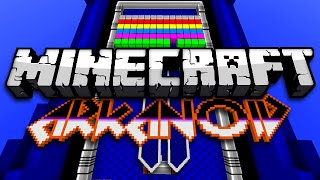 Minecraft: AMAZING BRICK BREAKER MINI GAME - Arkanoid