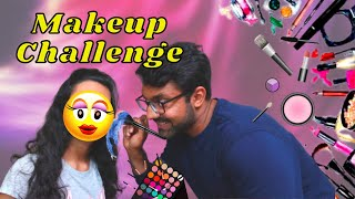 How to Destroy A Girl's Face! - Makeup Challenge | Hindi Vlogs