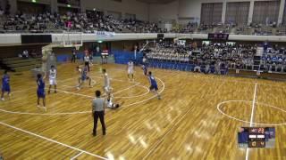 28日 バスケットボール男子 Bコート 前橋育英×県立広島皆実 1回戦