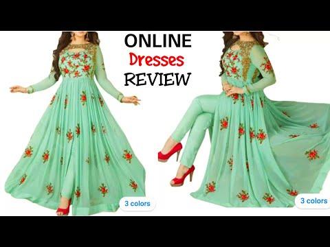 Anarkali Suit Review    Online Anarkali Suits    Review Video    Anarkali Dress Review