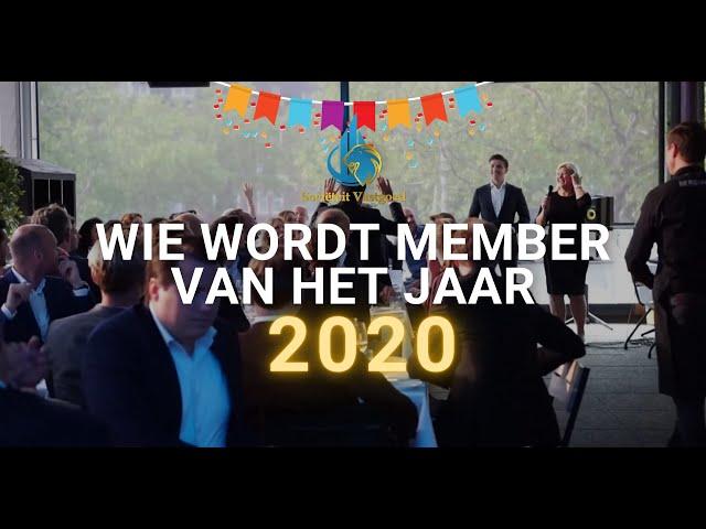 Member of the year 2020? - Sociëteit Vastgoed