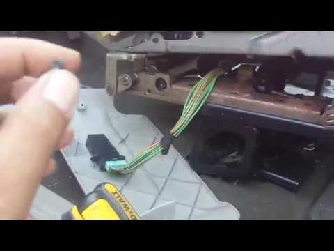 2005 Dodge Caravan Power Seat Quick Fix YouTube