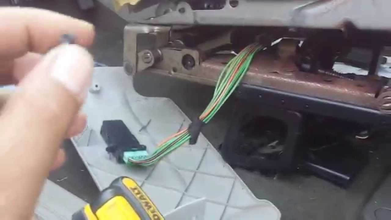 2005 Dodge Caravan Power Seat Quick Fix Youtube