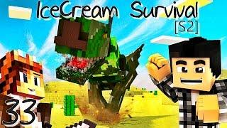 MON MAGNIFIQUE T-REX DÉBARQUE ! | IceCream Survival [S2] ! #Ep33