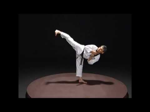 Basic Motions - CHAGI - Taekwondo Technics in English [HD]