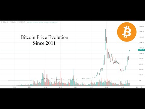 BITCOIN Price Evolution REPLAY (2011-2019)