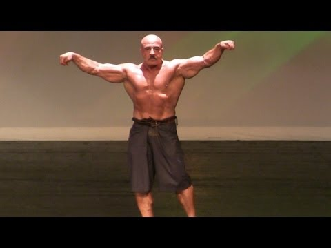 Mr Olympia 83 Samir Bannout Guest Posing at The 2012 Joe Weider's Master Mr Olympia