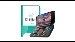 IQ Shield Tempered Glass Screen Protector for the New Nintendo 2DS XL