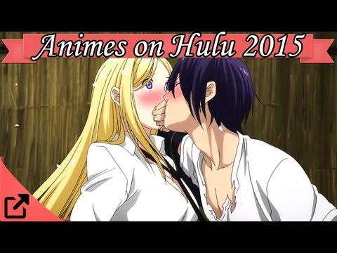Top Animes On Hulu 2015