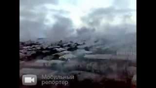 Кадры, снятые утром 8 Августа 2008 года. Как утверждает автор это Цхинвали во время боевых действий.(, 2013-12-15T20:50:56.000Z)