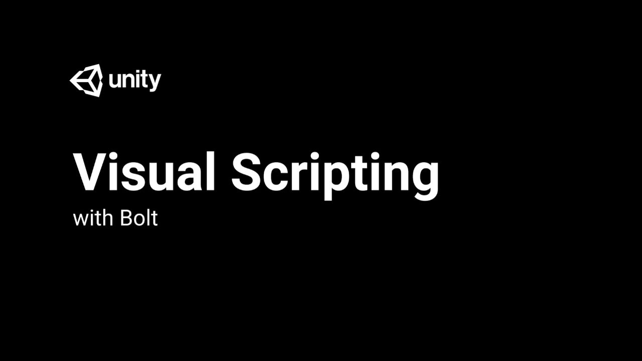 Visual Scripting With Bolt - Introduction and Setup [1/3] Live 2018/3/14