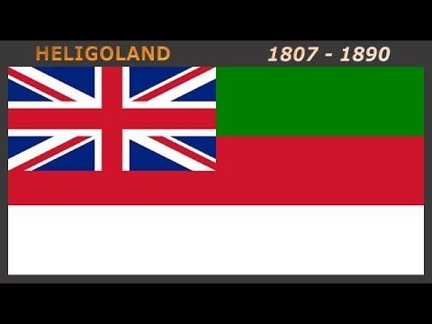Historical flags of the British Empire #2 - Historické vlajky Britského impéria #2