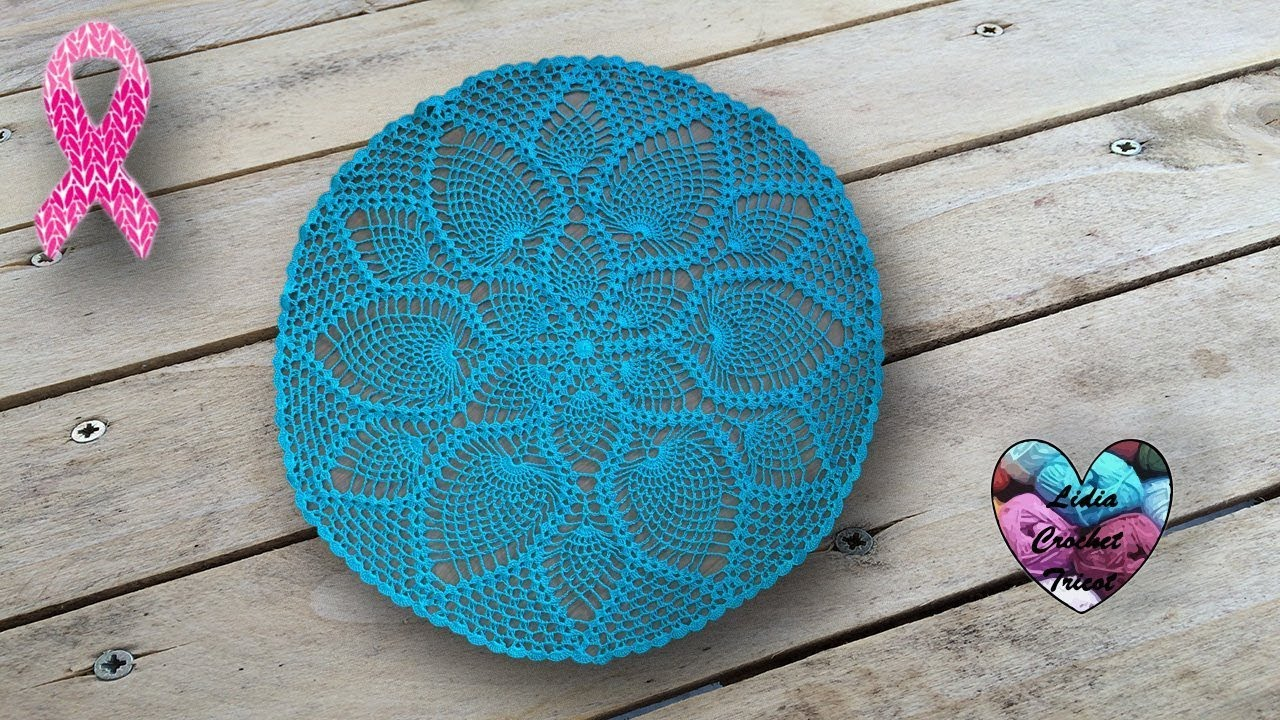 Nappe Napperon Crochet Point Ananas Sublime