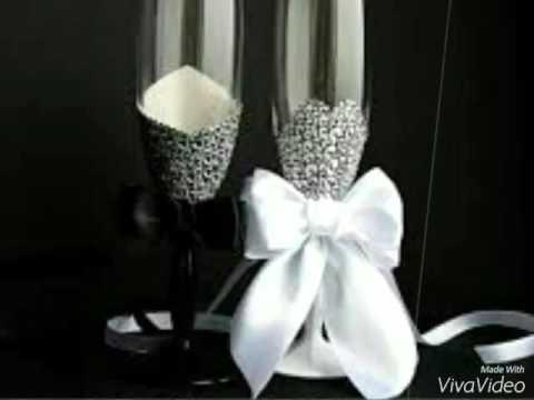 Copas Decoradas Para Bodas Matrimonio