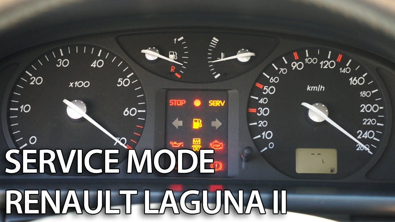 How To Enter Hidden Menu In Renault Laguna Ii Secret