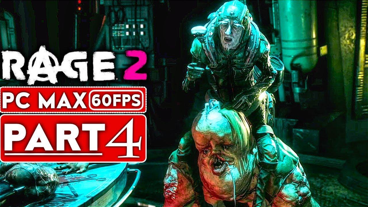 RAGE 2 Gameplay Komplettlösung Teil 4 [1080p HD 60FPS PC MAX EINSTELLUNGEN] - Kein Kommentar + video
