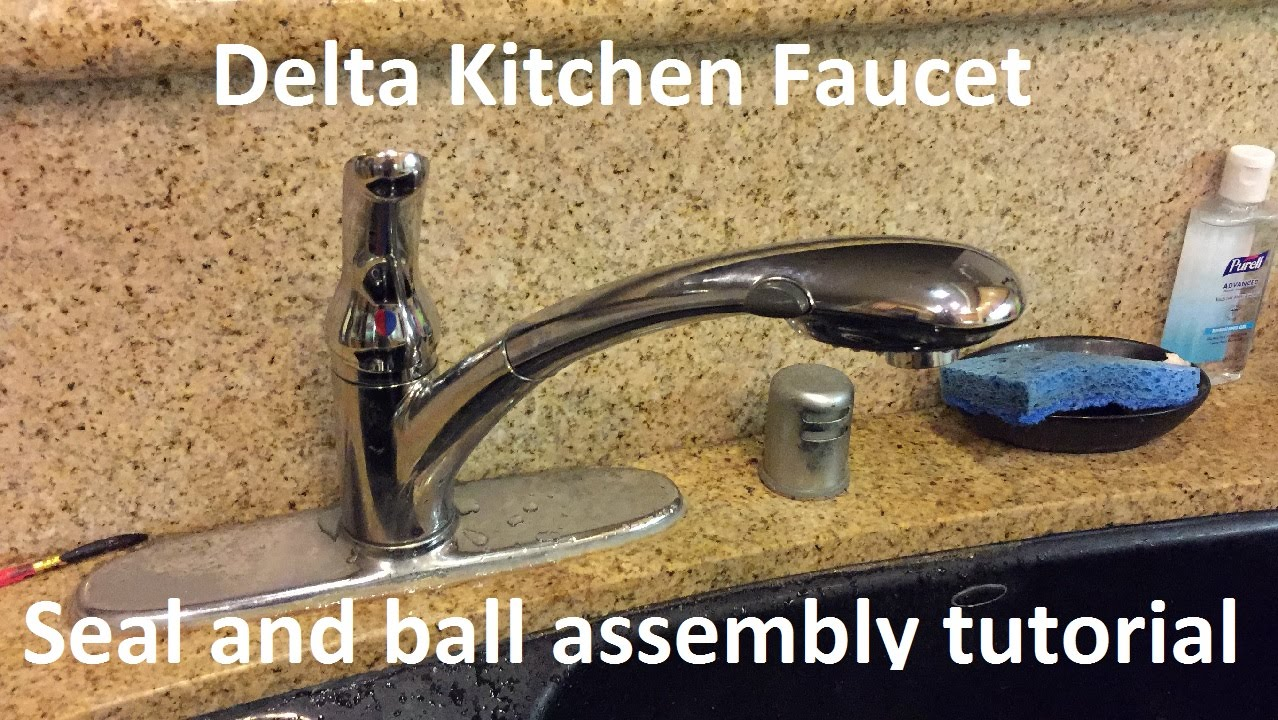 Tutorial Delta Kitchen Faucet Seal And Ball Assembly Replacement