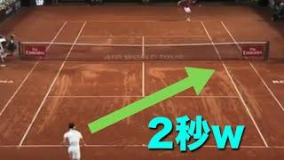 【テニス】錦織圭選手のバルセロナ、ローマ、マドリードでのスーパープ...