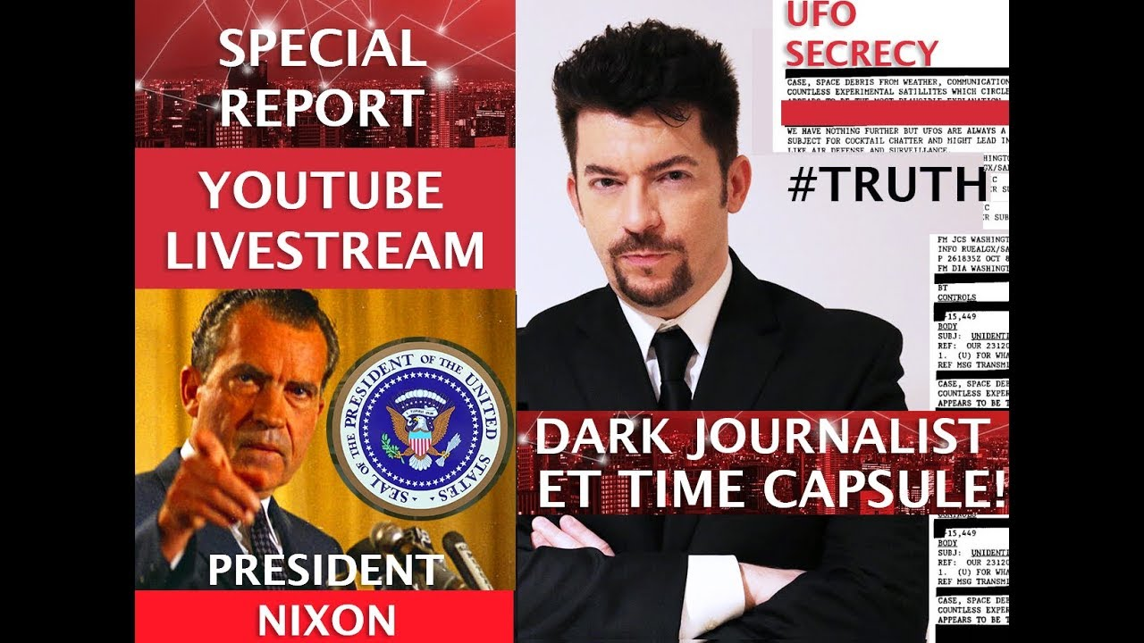 WHITE HOUSE ET TIME CAPSULE NIXON SECRET UFO MESSAGE! DARK JOURNALIST LIVE WITH ALEXANDRA BRUCE!