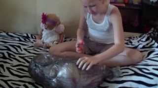 Обложка на видео о Распаковка Реборна !!!!