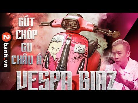 Bất ngờ với bản độ Vespa Sprint của Rapper BINZ I 2banh Review