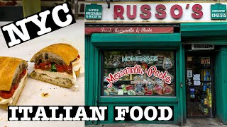 Best ITALIAN FOOD in New York & How to Make Mozzarella Cheese During Lockdown