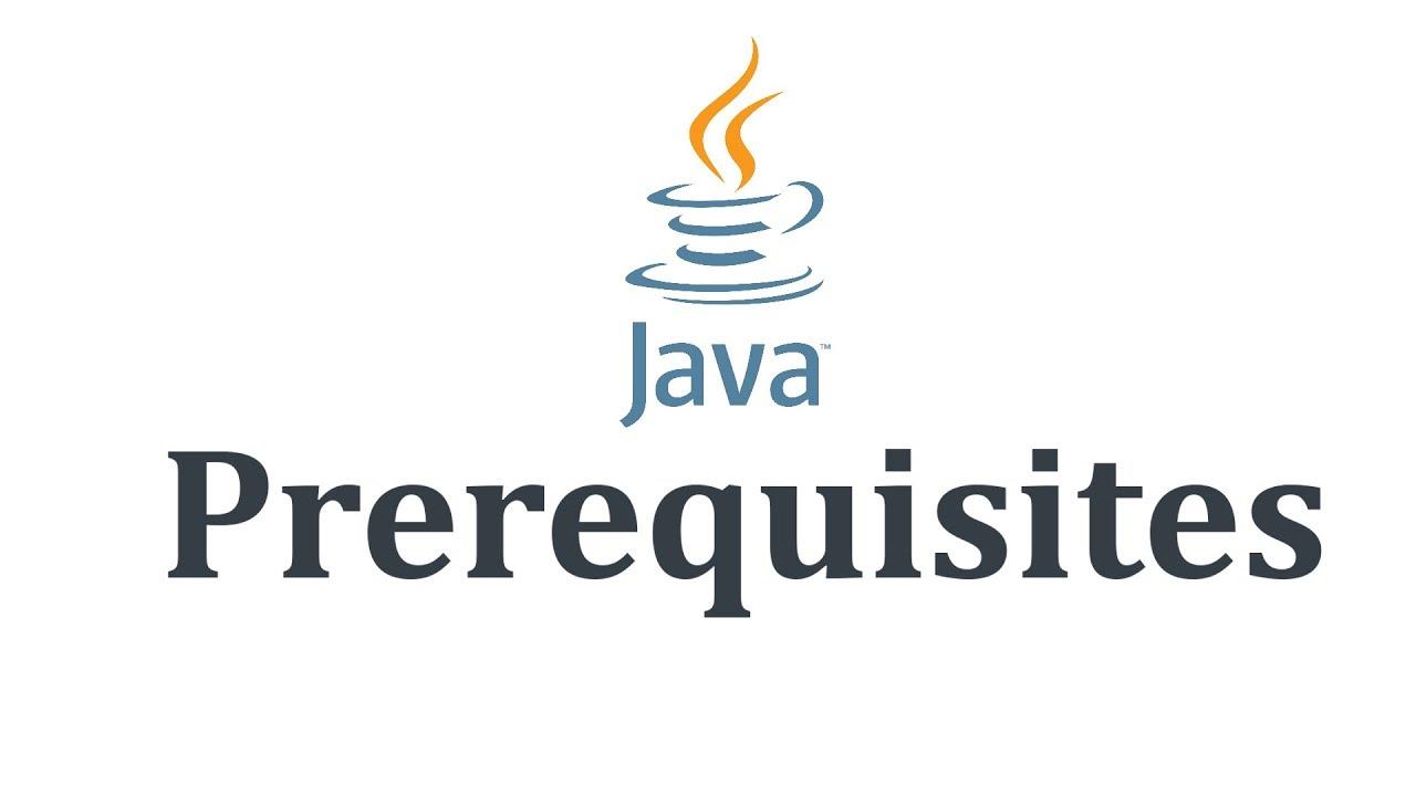 1.1.2 Prerequisites to Learn Java - YouTube