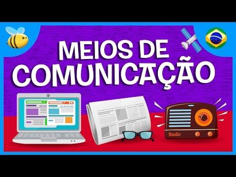 Os Meios de Comunicação | Vídeos Educativos para Crianças