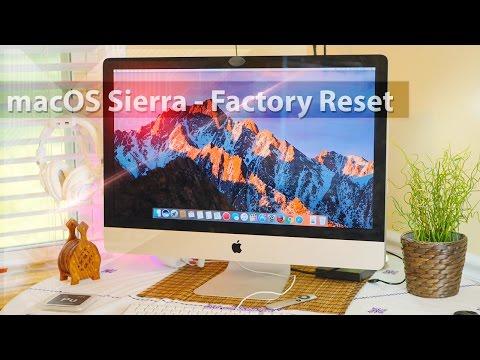 Mac : Factory Reset / Fresh Install ( MacOS Sierra ) By GadgetsXray