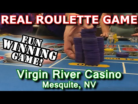 LOVE THIS GAME! - Live Roulette Game #21 - Virgin River Casino, Mesquite, NV - Inside The Casino
