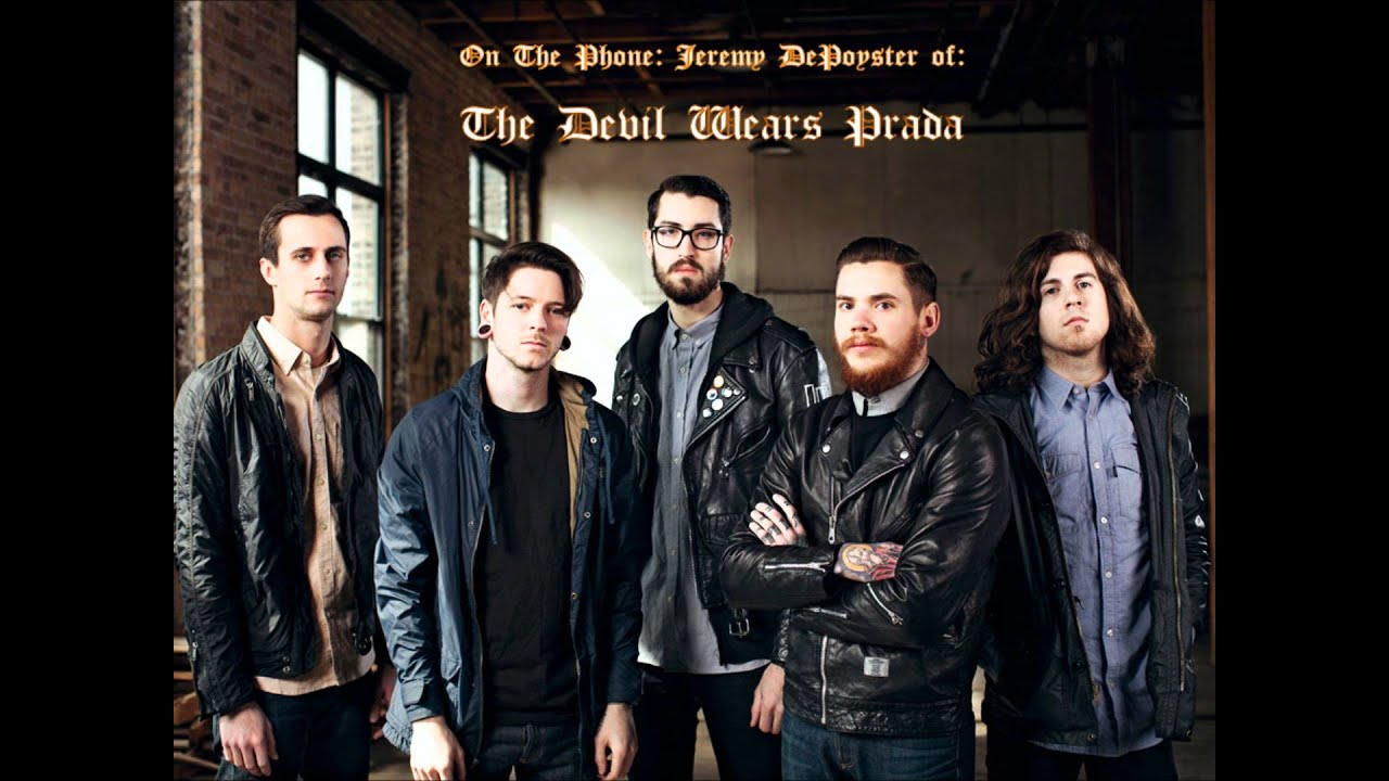 The Devil Wears Prada interview with Jeremy DePoyster, June 6, 2012