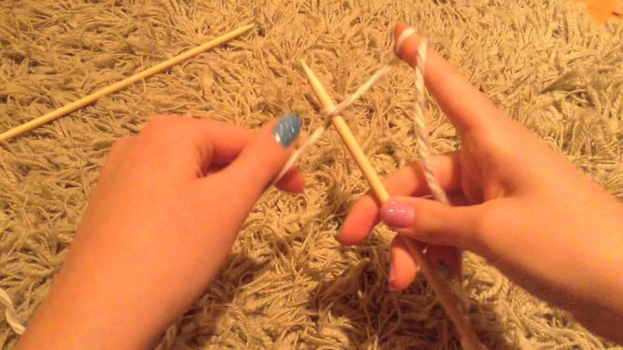 Cours de tricot 1 monter des mailles youtube - Apprendre a monter des mailles ...