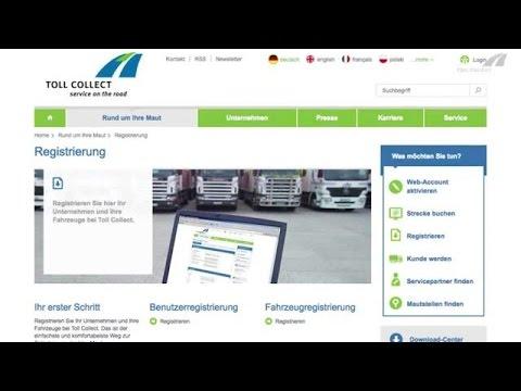 Toll Collect: Kunden-Portal mit neuen Funktionen / Neue Kunden können sich direkt online registrieren / Adressänderungen, An- und Abmeldungen von Fahrzeugen sind schnell und zu jeder Zeit möglich