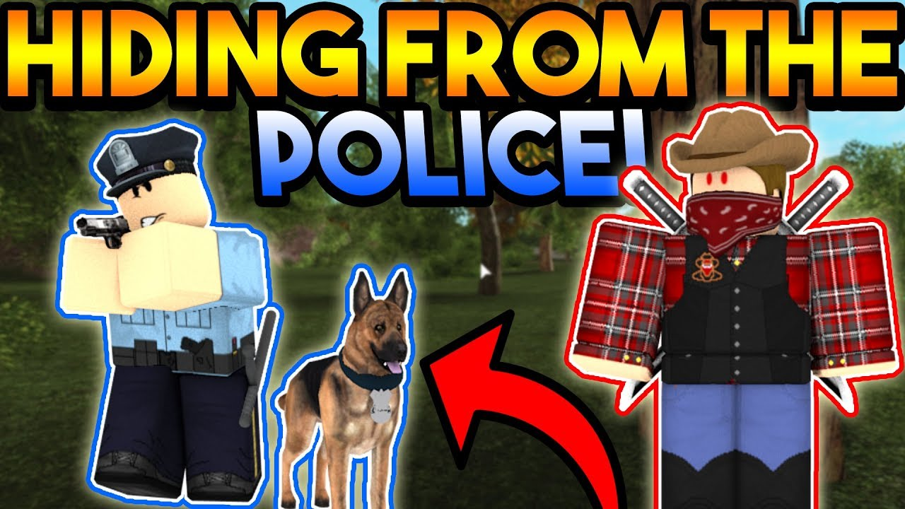 HIDING FROM THE POLICE!   ROBLOX: Emergency Response Liberty County